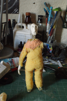 Puppet gone wrong. And naked, a naked puppet.